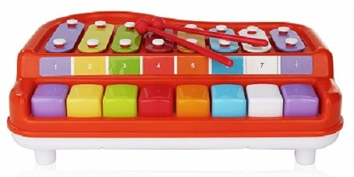 2 In 1 Xylophone for Kids