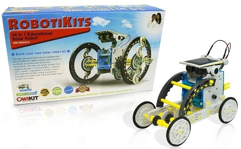 4-In-1 Educational Solar Robot by OWI