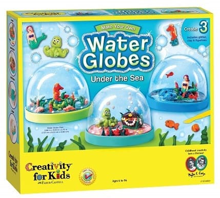 Creativity for Kids Make Your Own Water Globes Under the Sea Snow Globes