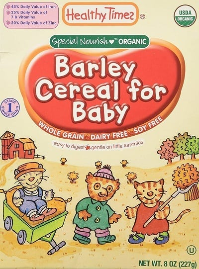 Healthy Times Whole Grain Baby Cereal
