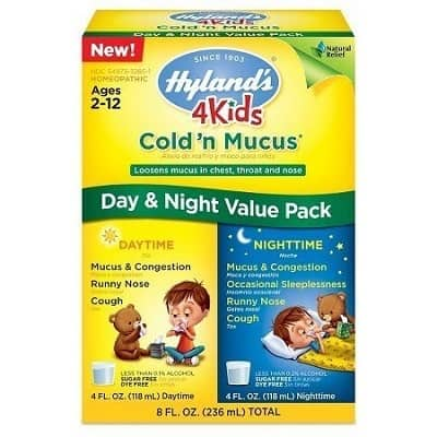 Hylands 4 kids Day and Night Value Pack