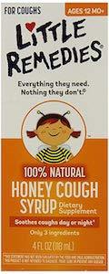 Little Remedies 100% Natural Honey Cough Syrup
