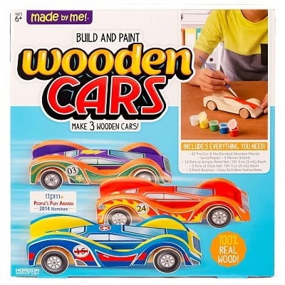 Made By Me Build And Paint Your Own Wooden Cars