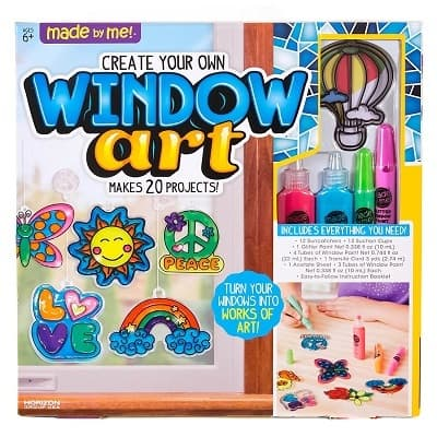 Made By Me Create Your Own Window Art Assorted Colors