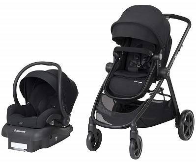 Maxi Cosi Zelia 5 in 1 Modular Travel System Stroller and Mico 30 Infant Car Seat Set
