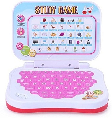 Oviwa Educational Computer ABC and 123 Learning Kids Laptop with LED Display and Music
