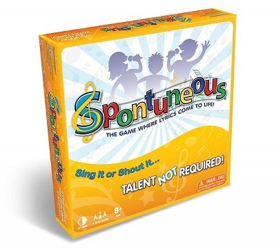 Spontuneous The Song Game