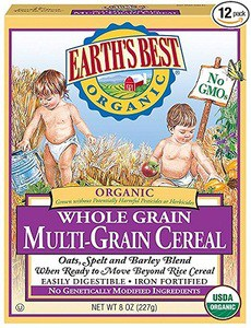 Earth's Best Organic Infant Cereal