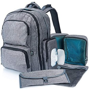 Bably Baby Large Capacity Diaper Bag Backpack